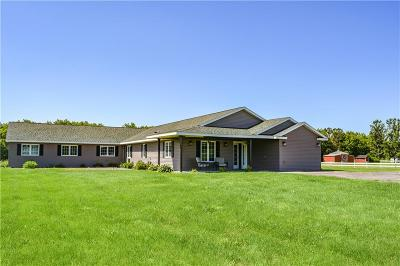 Single Family Home For Sale: W19433 Us Highway 10