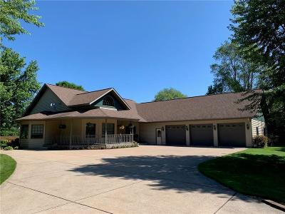 Chippewa Falls Single Family Home Active Under Contract: 13698 96th Avenue