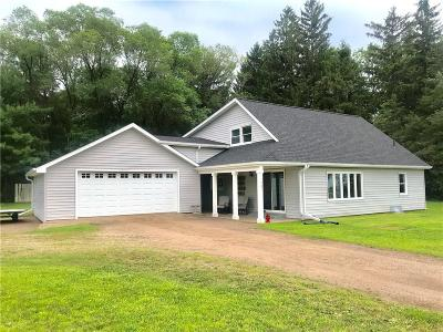 Chippewa Falls Single Family Home For Sale: 1701 122nd Street