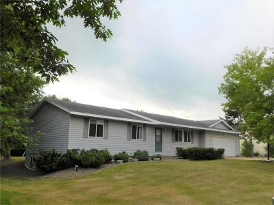 Menomonie Single Family Home Active Under Contract: E5644 690th Avenue