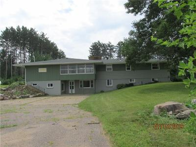 Chippewa Falls Single Family Home For Sale: 5040 190th Street