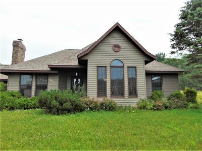 Whitehall Single Family Home For Sale: N36437 Schon Hollow Rd.