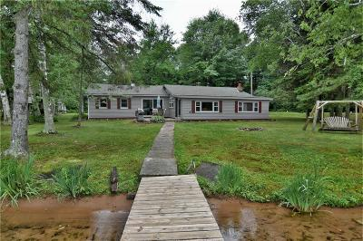 Couderay WI Single Family Home For Sale: $329,000