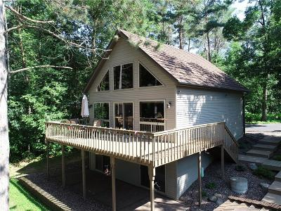 New Auburn WI Single Family Home For Sale: $428,500