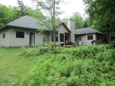 Hayward WI Single Family Home For Sale: $325,000