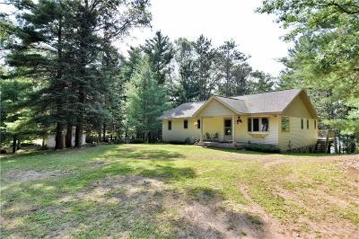 Spooner Single Family Home For Sale: 7739 N Emerson Corner Lane