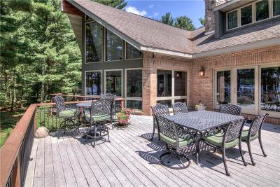 Single Family Home For Sale: N423 Windy Point Court