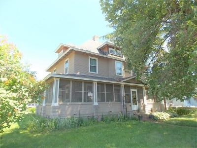 Rice Lake Single Family Home For Sale: 35 W Evans Street