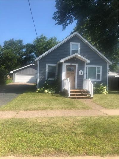 Rice Lake Single Family Home Active Under Contract: 15 E Orchard Beach Lane