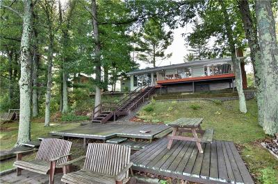 Webster Single Family Home For Sale: 7012 S Devils Lake Drive
