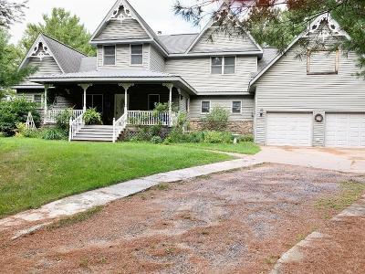 Grantsburg Single Family Home For Sale: 11402 Hwy D