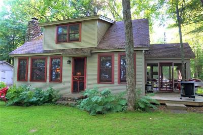 Webster Single Family Home For Sale: 27736 Yellow Lake Road