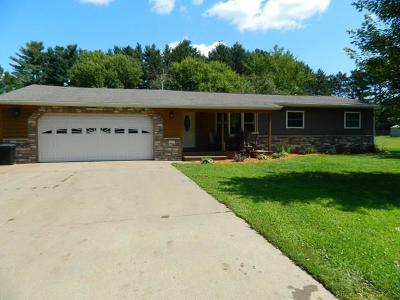 Osseo WI Single Family Home For Sale: $185,900