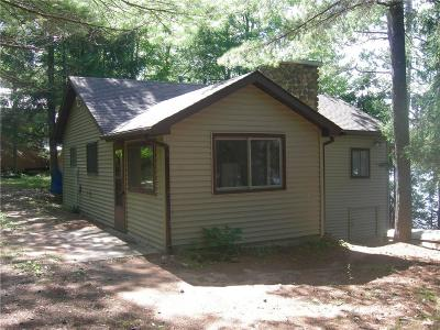 Cable WI Single Family Home For Sale: $160,000