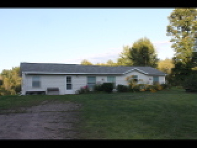 Single Family Home For Sale: N3897 Cranberry Road
