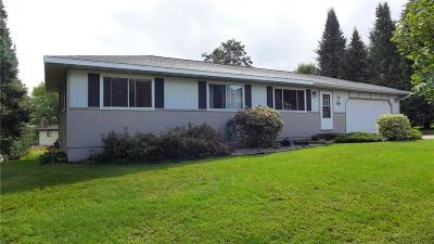 Rice Lake Single Family Home For Sale: 29 Hilltop Drive