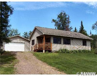 Sawyer County Single Family Home For Sale: 5648 W Sundling Road