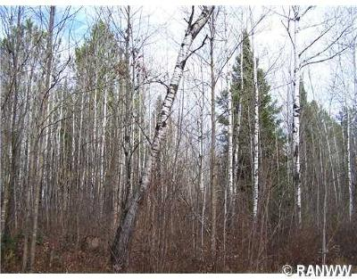 Sawyer County Residential Lots & Land Active Offer: W Golob Road