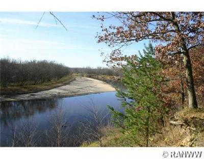 Jackson County, Clark County Residential Lots & Land For Sale: W12875 River (Lot 2 & 3) Road