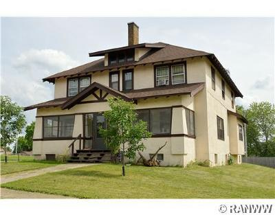 RICE LAKE Multi Family Home For Sale: 208 W Humbird Street