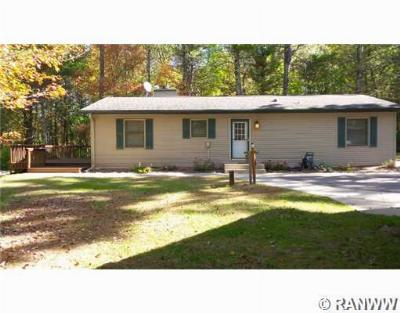Single Family Home Sale Pending: W8842 Emerald Lake Rd