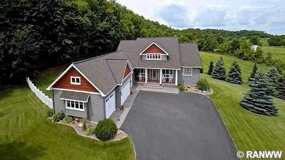 Menomonie Single Family Home For Sale: E5950 483rd Street