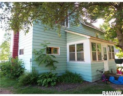 Fairchild WI Single Family Home For Sale: $39,900