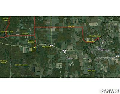 Jackson County, Clark County Residential Lots & Land For Sale: Us Hwy. 10