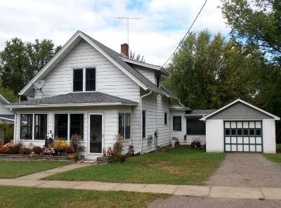 Alma Center WI Single Family Home For Sale: $74,900