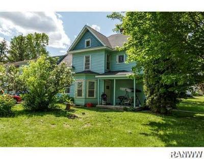 Barron Single Family Home For Sale: 934 Lasalle Avenue