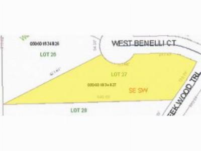 Residential Lots & Land Active-No Offer: W Benelli