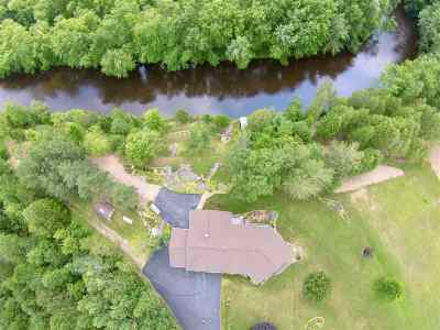 Cecil Single Family Home For Sale: W2442 River Bend