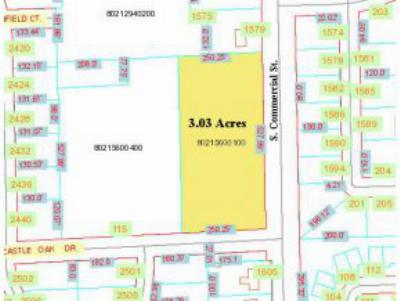 Residential Lots & Land Active-No Offer: S Commercial