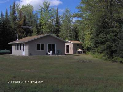 Wausaukee Single Family Home For Sale: W2374 Hansen