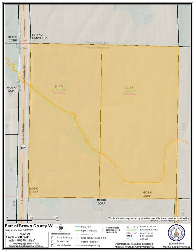 Brown County Residential Lots & Land Active-No Offer: S Huron