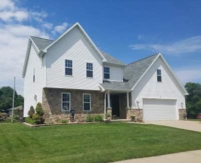 Combined Locks Single Family Home Active-Offer W/O Bump: 112 Hidden Ridges
