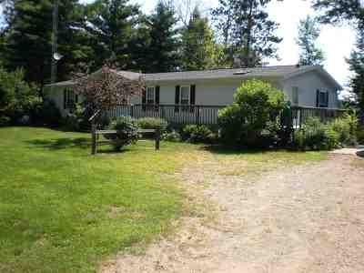 Pembine Single Family Home Active-No Offer: N16762 Oak Leaf