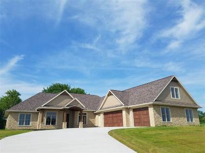 Appleton Single Family Home Active-No Offer: 2124 E Downs Ridge
