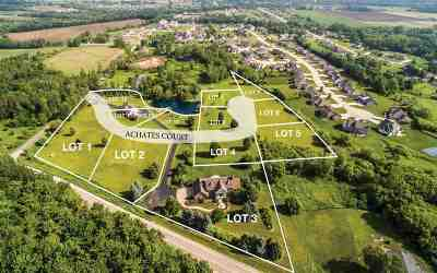 De Pere Residential Lots & Land Active-Offer No Bump: 5125 Achates