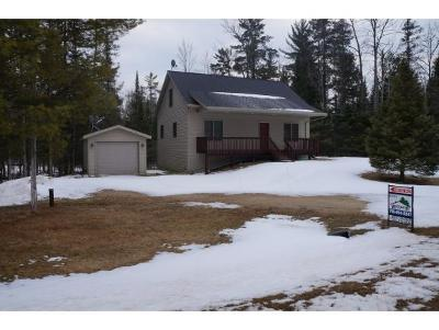 Amberg Single Family Home For Sale: W4435 Hwy K