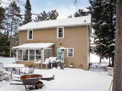 Single Family Home For Sale: 14491 Berry Lake North Shore