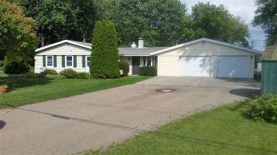 Neenah Single Family Home For Sale: 1761 Butte Des Morts Beach Rd