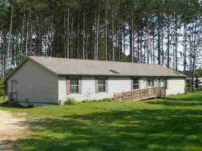 Shawano County Single Family Home Active-No Offer: 120 Lake