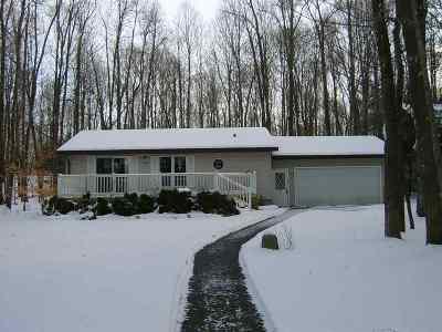 Pound Single Family Home For Sale: 12980 S White Potato Lake