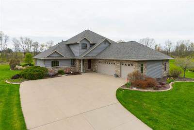 Hortonville WI Single Family Home Active-No Offer: $399,900