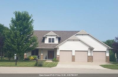 Neenah Single Family Home Active-No Offer: 1974 Creek Side