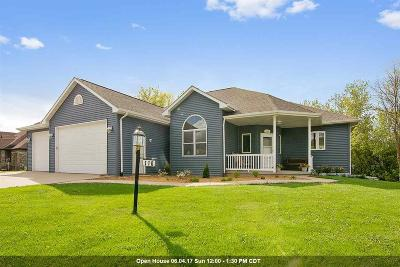 Combined Locks Single Family Home Active-Offer W/O Bump: 110 Ombre Rose