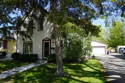 North Fond Du Lac WI Single Family Home Active-No Offer: $89,900