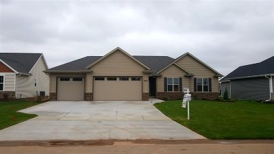 Menasha Single Family Home For Sale: 2917 Villa
