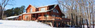 Single Family Home For Sale: N8184 Oak